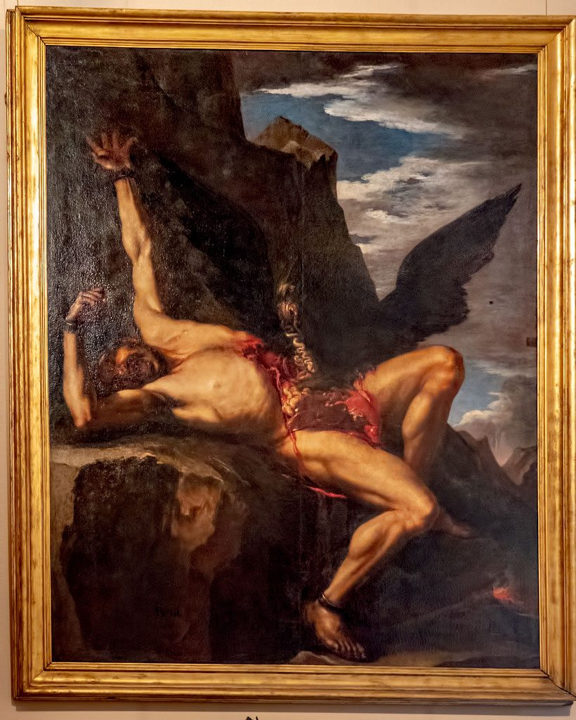 Palazzo Corsini: Rosa - The Torture of Prometheus
