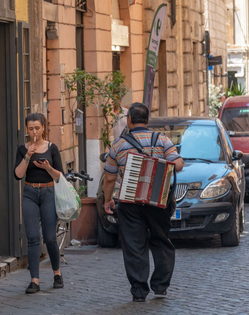 Street Accordion Player
