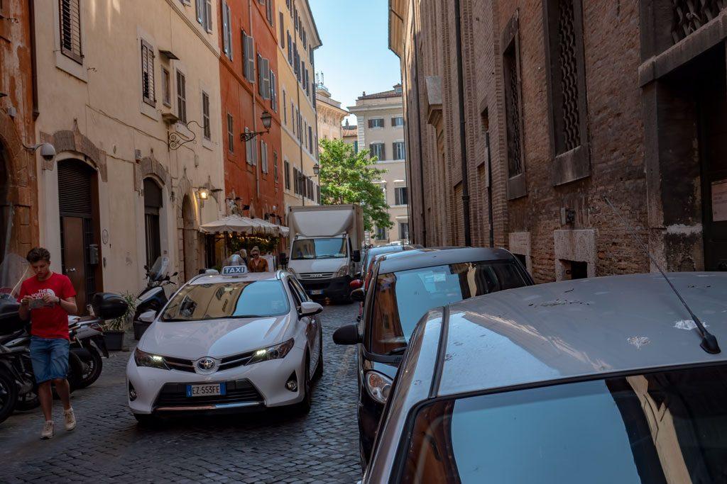 Palazzo Corsini: Rome Street