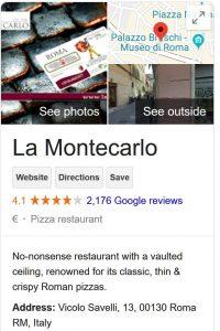 Montecarlo Pizzeria
