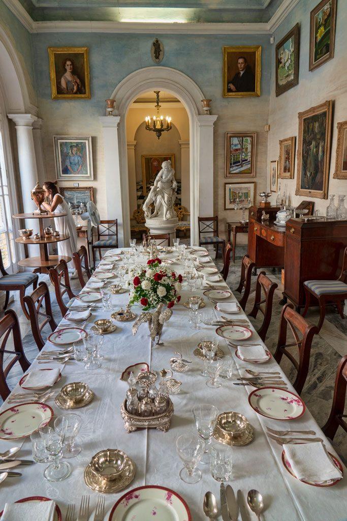 Casa Roca Piccola - Summer Dining Room