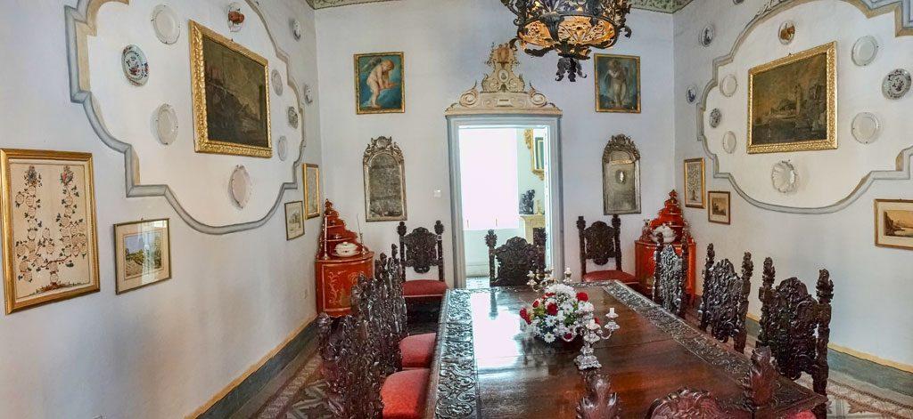 Casa Roca Piccola - Winter Dining Room