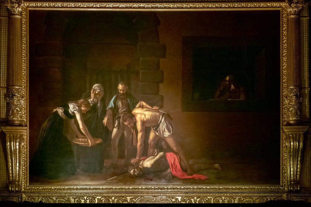 St John's Co-Cathedral - Caravaggio - Beheading St John the Baptist
