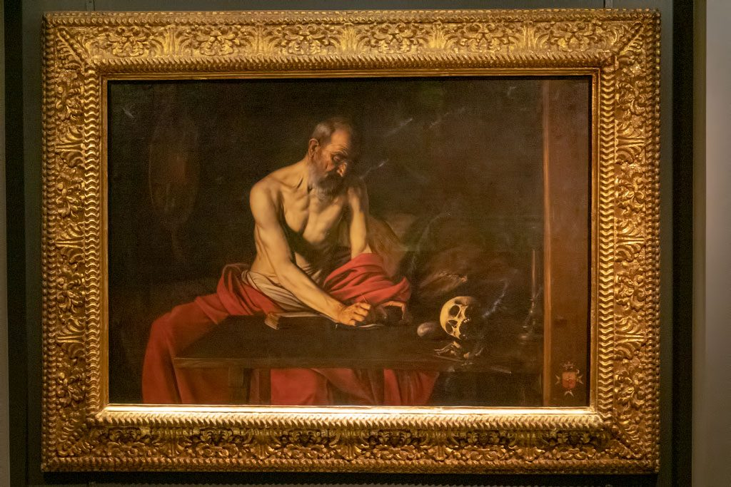 St John's Co-Cathedral - Caravaggio - St Jerome Writing