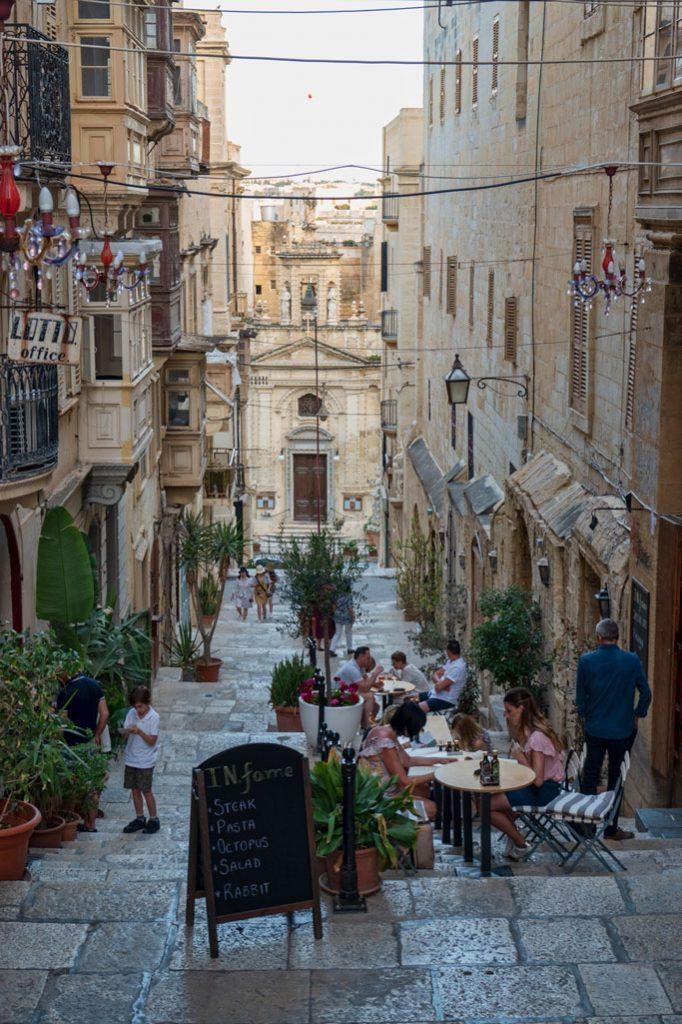 Valletta - Walkway